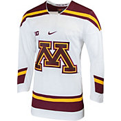 Nike Men's Minnesota Golden Gophers Replica Hockey White Jersey