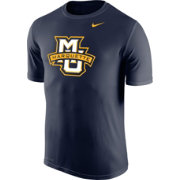 Nike Men's Marquette Golden Eagles Blue Logo Legend T-Shirt