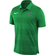 Nike Men's Marshall Thundering Herd Green Early Season Football Polo