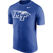 Nike Men's Middle Tennessee State Blue Raiders Blue Logo Legend T-Shirt