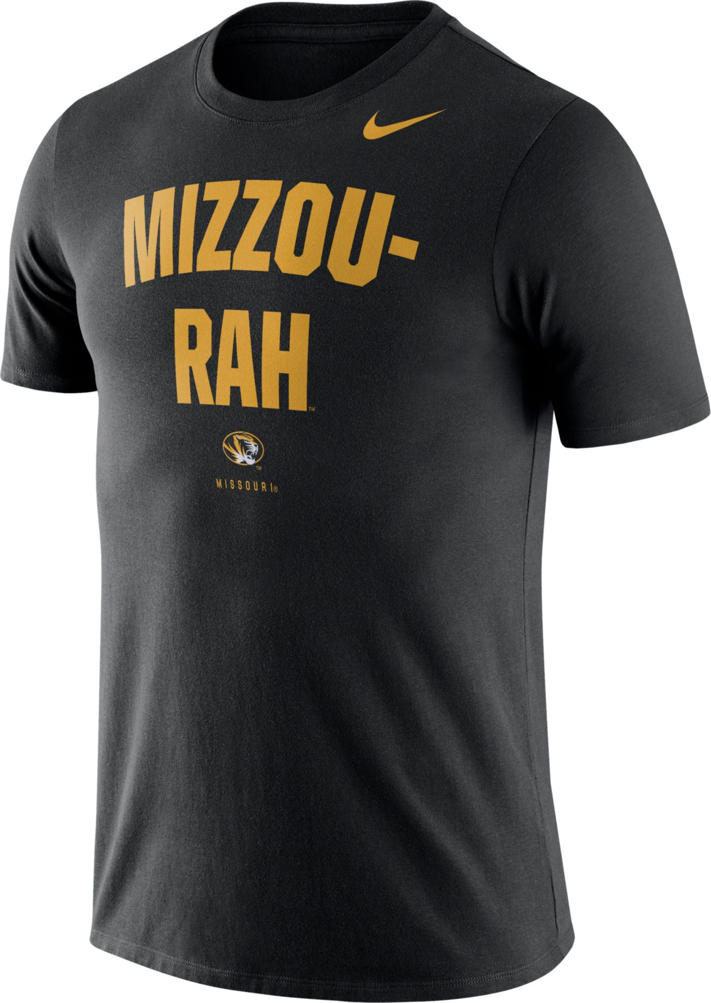 Nike Men's Missouri Tigers Dri-FIT Phrase Black T-Shirt
