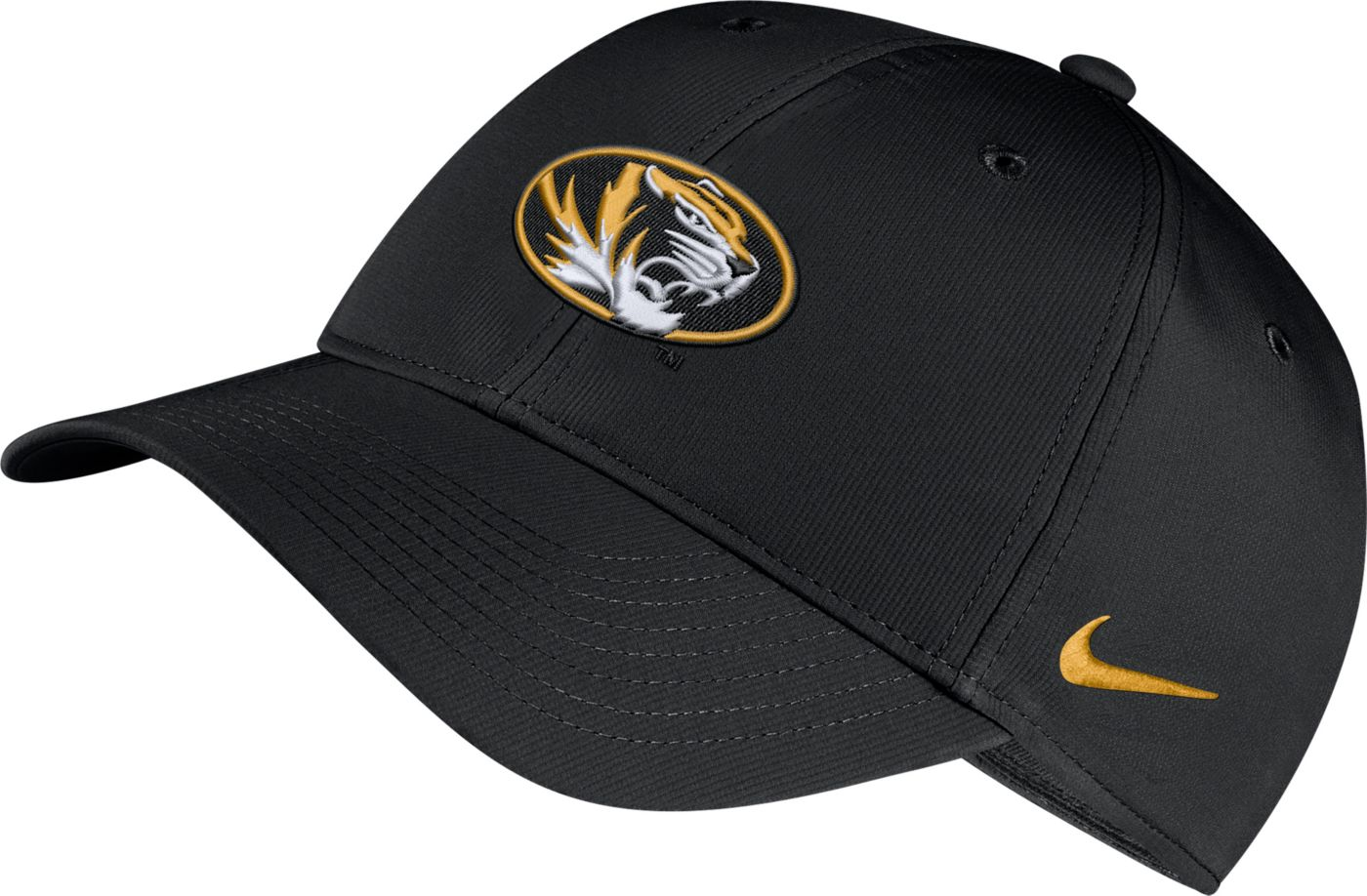 Nike Men's Missouri Tigers Legacy91 Adjustable Black Hat