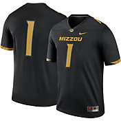 Nike Men's Missouri Tigers #1 Legend Football Black Jersey