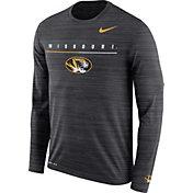 Nike Men's Missouri Tigers Velocity Legend Graphic Long Sleeve Black T-Shirt