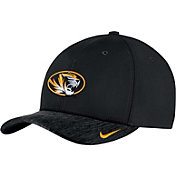 Nike Men's Missouri Tigers Black Aerobill Swoosh Flex Classic99 Football Sideline Hat