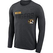 Nike Men's Missouri Tigers Grey Legend Football Sideline Long Sleeve T-Shirt