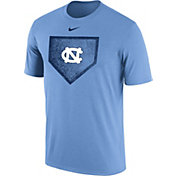 Nike Men's North Carolina Tar Heels Carolina Blue Baseball Diamond T-Shirt