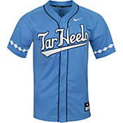 Nike Men's North Carolina Tar Heels Carolina Blue Dri-FIT Replica Baseball Jersey