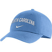 Nike Men's North Carolina Tar Heels Carolina Blue Heritage86 Arch Wordmark Hat