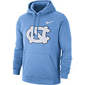 Nike Men's North Carolina Tar Heels Carolina Blue Club Fleece Pullover Hoodie