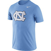 Nike Men's North Carolina Tar Heels Carolina Blue Logo Dry Legend T-Shirt