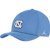 Jordan Men's North Carolina Tar Heels Carolina Blue Aerobill Swoosh Flex Classic99 Football Sideline Hat