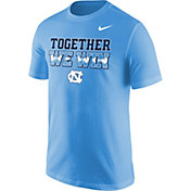 Nike Men's North Carolina Tar Heels Carolina Blue 'Together We Win' T-Shirt