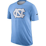 Nike Men's North Carolina Tar Heels Carolina Blue Player Dri-FIT Basketball T-Shirt