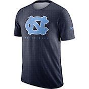 Nike Men's North Carolina Tar Heels Navy Player Dri-FIT Basketball T-Shirt