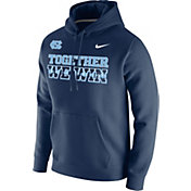 Nike Men's North Carolina Tar Heels Carolina Blue 'Together We Win' Pullover Hoodie