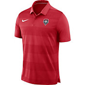 Nike Men's New Mexico Lobos Cherry Early Season Football Polo