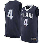 Nike Men's Villanova Wildcats Navy #4 Replica Basketball Jersey