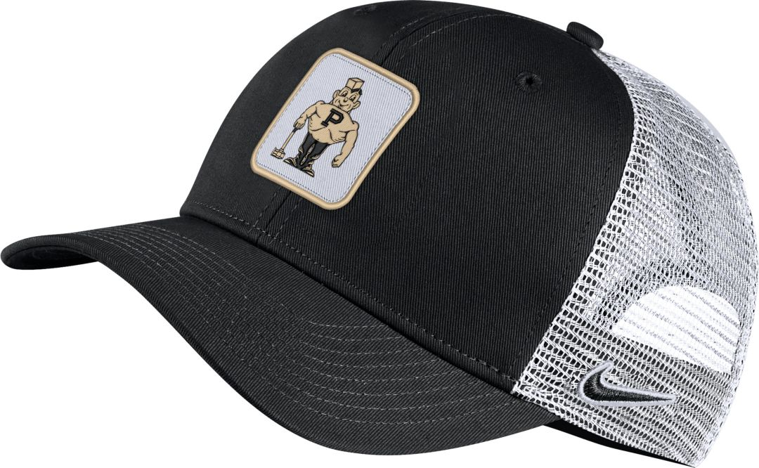 15f119f9 Nike Men's Purdue Boilermakers Retro Classic99 Trucker Black Hat