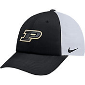 Nike Men's Purdue Boilermakers Black Heritage86 Adjustable Trucker Hat