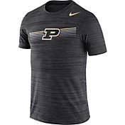 Nike Men's Purdue Boilermakers Velocity Legend Graphic Black T-Shirt