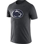 Nike Men's Penn State Nittany Lions Grey Logo Dry Legend T-Shirt