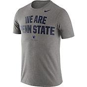 Nike Men's Penn State Nittany Lions Grey Dri-FIT Phrase T-Shirt