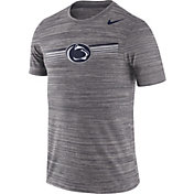 Nike Men's Penn State Nittany Lions Grey Velocity Legend Graphic T-Shirt