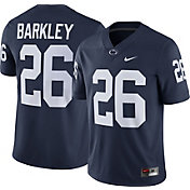 Nike Men's Saquon Barkley Penn State Nittany Lions #26 Blue Replica College Alumni Jersey