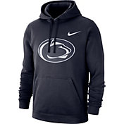 Nike Men's Penn State Nittany Lions Blue Club Fleece Pullover Hoodie