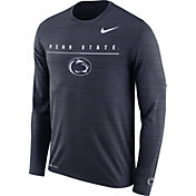 Nike Men's Penn State Nittany Lions Blue Velocity Legend Graphic Long Sleeve T-Shirt