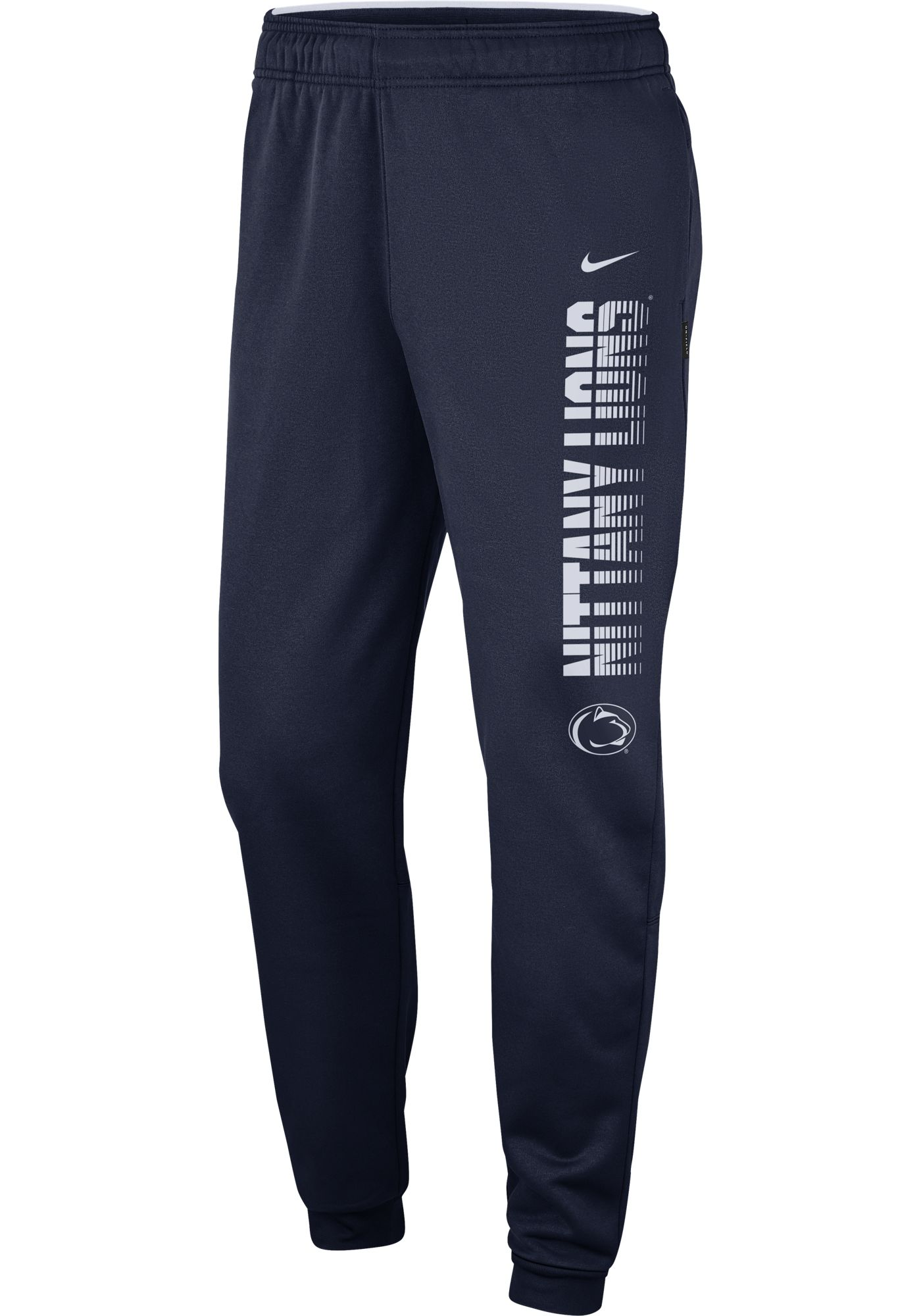 Nike Men's Penn State Nittany Lions Blue Therma Tapered Pants