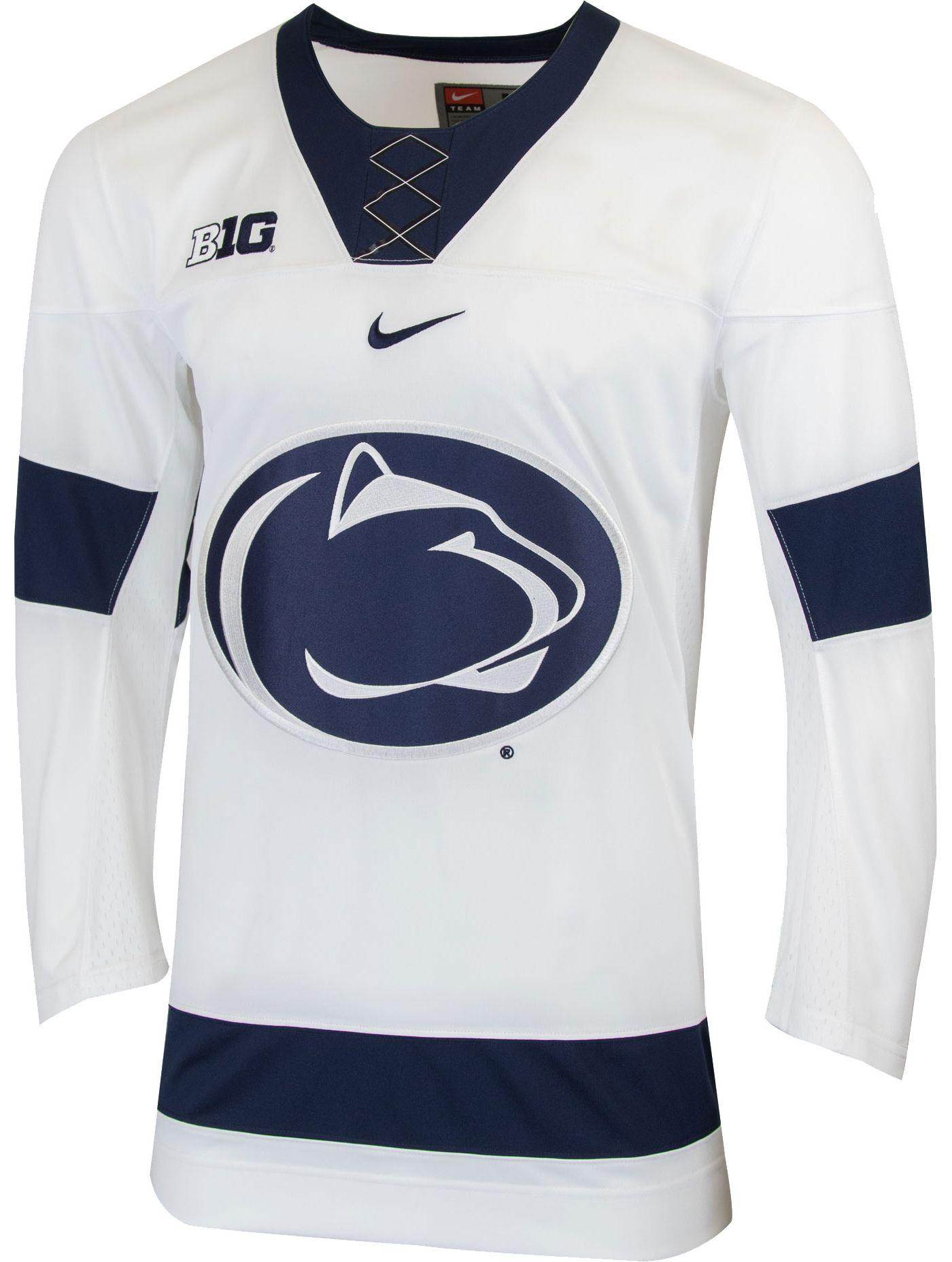 Nike Men's Penn State Nittany Lions Replica Hockey White Jersey