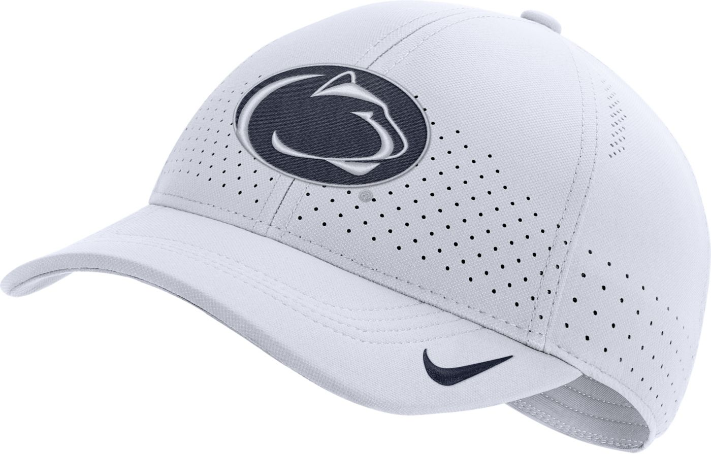 Nike Men's Penn State Nittany Lions Aerobill Classic99 Football Sideline White Hat