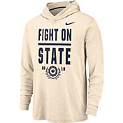 Nike Men's Penn State Nittany Lions Dri-FIT Slub Rivalry Long Sleeve White Hooded Tee