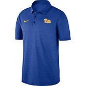 Nike Men's Pitt Panthers Blue Dri-FIT Breathe Polo