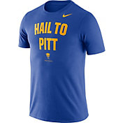 Nike Men's Pitt Panthers Blue Dri-FIT Phrase T-Shirt