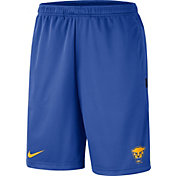Nike Men's Pitt Panthers Blue Dri-FIT Coach Shorts