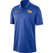 Nike Men's Pitt Panthers Blue Dri-FIT Franchise Polo