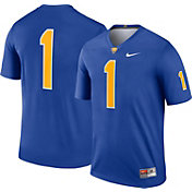 Nike Men's Pitt Panthers #1 Blue Dri-FIT Legend Football Jersey