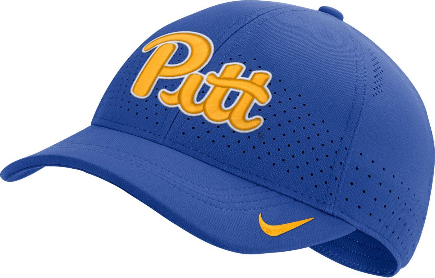 Nike Men's Pitt Panthers Blue Aerobill Classic99 Football Sideline Hat