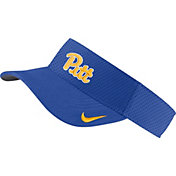 Nike Men's Pitt Panthers Blue AeroBill Football Sideline Visor