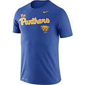 Nike Men's Pitt Panthers Blue Legend Football Sideline T-Shirt