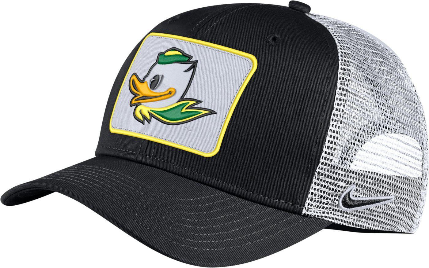 Nike Men's Oregon Ducks Classic99 Trucker Black Hat