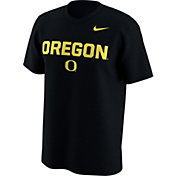 Nike Men's Oregon Ducks Lockup Black T-Shirt
