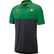 Nike Men's Oregon Ducks Green/Grey Dri-FIT Breathe Football Sideline Polo