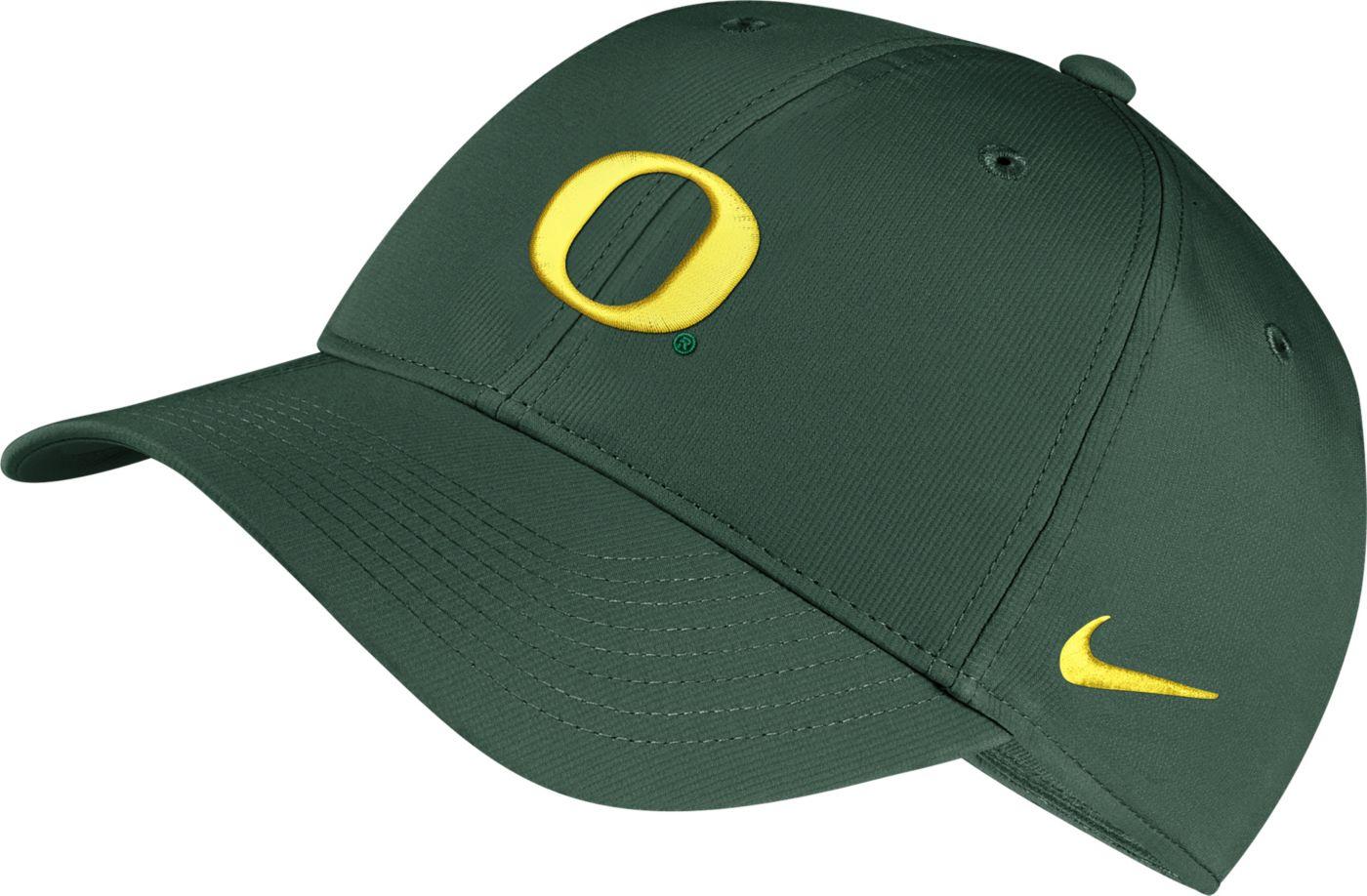 Nike Men's Oregon Ducks Green Legacy91 Adjustable Hat