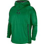 Nike Men's Oregon Ducks Green Pullover Fly Rush Jacket