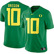 Nike Men's Oregon Ducks #10 Green Dri-FIT Game Football Jersey