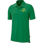 Nike Men's Oregon Ducks Green Dri-FIT Elite Football Sideline Polo